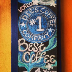 Photo taken at Dee's Coffee Company by Mario B. on 2/22/2013