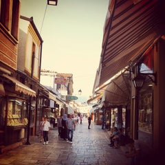 Photo taken at Стара скопска чаршија | Skopje Old Bazaar by Suzana T. on 7/24/2013