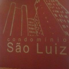 Photo taken at Condomínio São Luiz by Jana G. on 2/27/2014