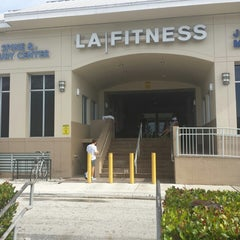 Photo taken at LA Fitness by Tim K. on 4/18/2014