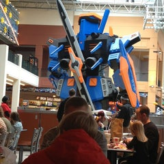 Photo taken at South Food Court by Stephanie A. on 1/19/2013