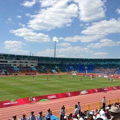 Photo taken at Центральный Стадион / Central Stadium by Dinara🍋 I. on 7/21/2013