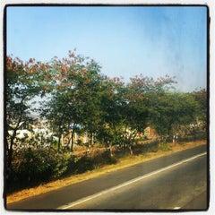 Photo taken at Pune mumbai expressway by Vaibhav K. on 2/26/2013
