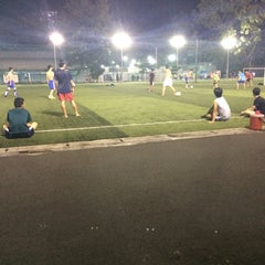 Photo taken at Football Fields SAO-VIET by Егор С. on 1/12/2015