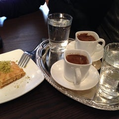 Photo taken at Senem's Coffee & Tea House by Elvan S. on 3/23/2014