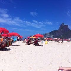 Photo taken at Barraca do Mineiro by Thiago A. on 2/18/2012