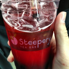 Photo taken at Steepery Tea Bar by Nico B. on 4/10/2013