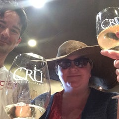 Photo taken at CRU Wine Company by Jenni Lynne L. on 5/4/2014
