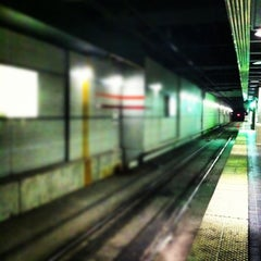 Photo taken at RTA Tower City - Public Square Rapid Station by David M. on 11/20/2012