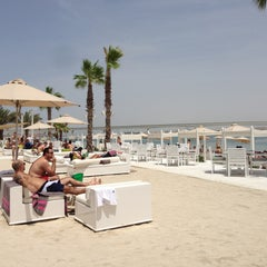 Photo taken at Nasimi Beach by Håkan F. on 4/26/2013