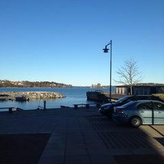 Photo taken at Gåshaga Marina by Håkan F. on 4/15/2014