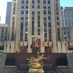 Photo taken at 30 Rockefeller Plaza by Teri L. on 3/4/2013