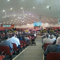 Photo taken at Igreja Adventista do Sétimo Dia - UNASP-EC by Jonatas C. on 10/13/2012