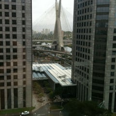 Photo taken at Sheraton São Paulo WTC Hotel by Giuliana R. on 9/26/2012