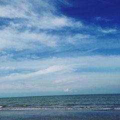 Photo taken at Pantai Randusanga Indah by Agnes A. on 4/24/2014