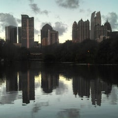 Photo taken at Piedmont Park by Friar F. on 12/20/2012