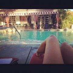 Photo taken at Colony Palms Hotel by Christina on 9/4/2012
