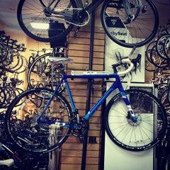 Photo taken at Tread Bike Shop by Susan B. on 5/8/2015