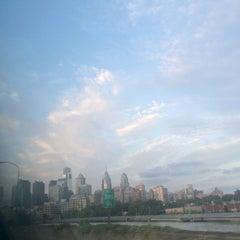 Photo taken at South Street Bridge by Chris R. on 7/11/2015
