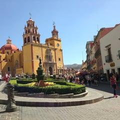 Photo taken at Basílica Colegiata de Nuestra Señora de Guanajuato by Heidi A. on 2/2/2013