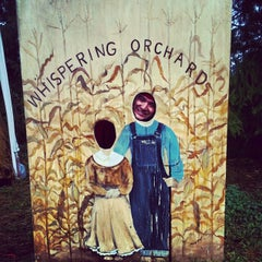 Photo taken at Whispering Orchard by Erica G. on 10/12/2013