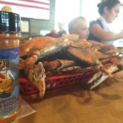 Photo taken at Harris Crab House by Joshua L. on 8/1/2015