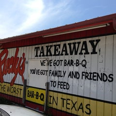 Photo taken at Rudy's Country Store & Bar-B-Q by Brian C. on 6/2/2013