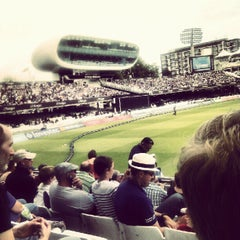 Photo taken at Lord's Cricket Ground (MCC) by Chris L. on 9/15/2012
