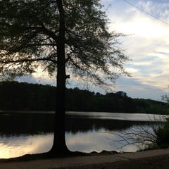 Photo taken at Murphey Candler Park by Oriana P. on 4/19/2013