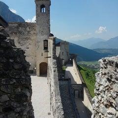 Photo taken at Castel Beseno by Nick S. on 6/11/2014