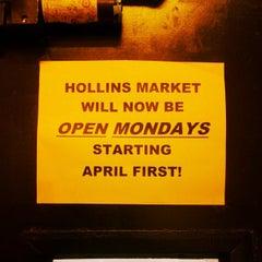 Photo taken at Hollins Market by JAXnCHUX on 3/19/2013