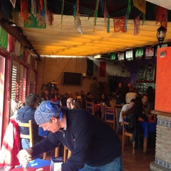 Photo taken at Los Jarales by Lizbet P. on 3/29/2014