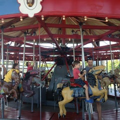 Photo taken at Greenport Antique Carousel by Ray S. on 8/11/2013