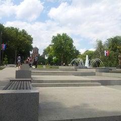 Photo taken at Tašmajdanski park by Leon M. on 6/28/2013