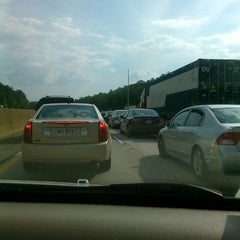 Photo taken at I-285 & Donald Lee Hollowell Pkwy NW by EMANATED FROM DETROIT D. on 4/30/2013