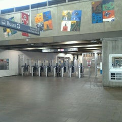 Photo taken at MARTA - Arts Center Station by David R. on 12/14/2012