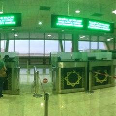 Photo taken at Saparmurat Turkmenbashi International Airport (ASB) by Владимир М. on 5/12/2013
