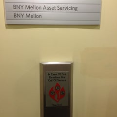 Photo taken at BNY Mellon Financial by Andy M. on 5/8/2013