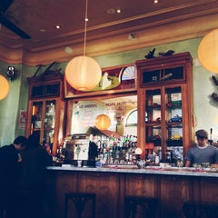 Photo taken at Cafe Gitane at The Jane Hotel by Cooper S. on 1/5/2013