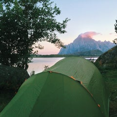 Photo taken at Ørsvågvær Camping by Cooper S. on 8/4/2013