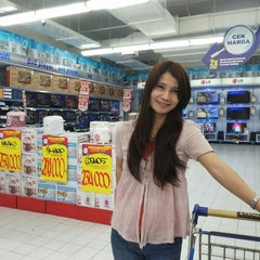 Photo taken at hypermart by Deddy C. on 4/4/2014