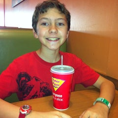 Photo taken at Peter Piper Pizza by Tina O. on 3/15/2013