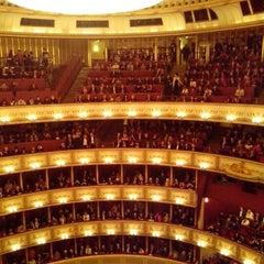 Photo taken at Wiener Staatsoper by Albert R. on 1/13/2013