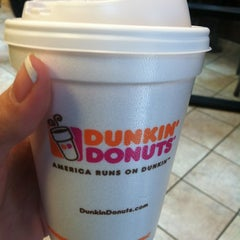 Photo taken at Dunkin' Donuts by Mandy C. on 10/7/2012
