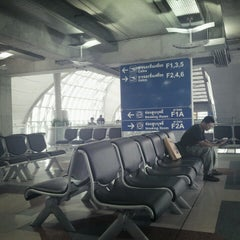 Photo taken at Gate F1 by Neenee C. on 9/14/2012