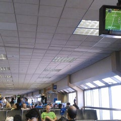 Photo taken at Gate C17 by Alfonso S. on 10/26/2014