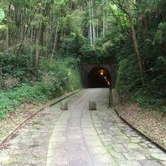 Photo taken at 明治宇津ノ谷隧道 by フジケン on 6/26/2014