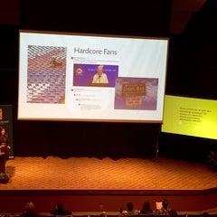 Photo taken at Weasler Auditorium by Tim C. on 3/18/2015