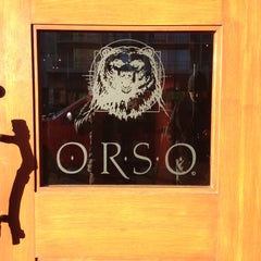 Photo taken at Orso by Jan K. on 10/23/2012