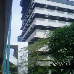 Photo taken at Universitas Katolik Indonesia Atma Jaya by Franciqsca K. on 12/1/2012